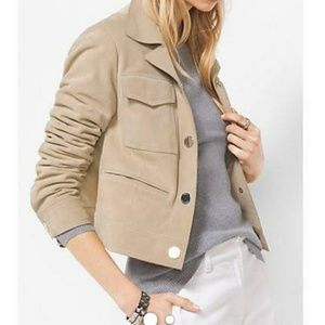 Michael Michael Kors suede jacket size m
